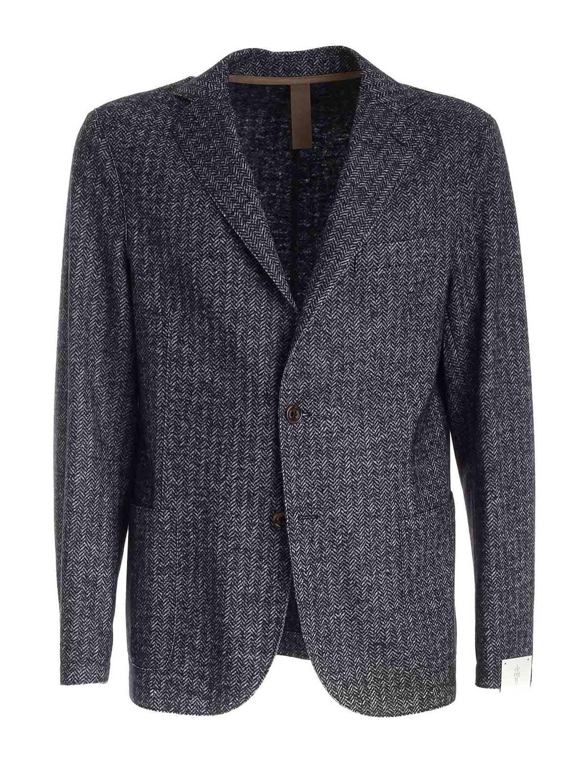 Picture of ELEVENTY | Men's Herringbone Wool Blazer