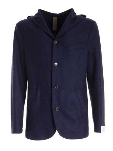Picture of ELEVENTY | Men's Hooded Wool Blazer