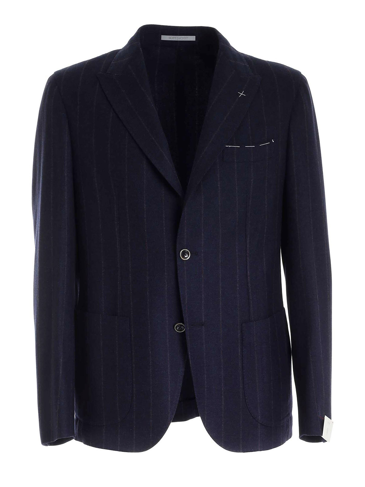 Picture of ELEVENTY | Men's Pinstripe Wool and Cashmere Blazer