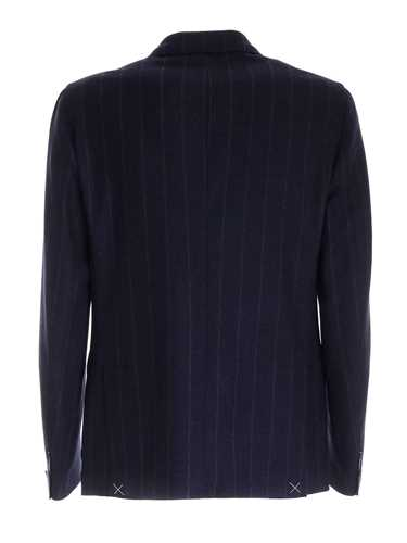 Picture of ELEVENTY | Men's Pinstripe Wool and Cashmere Blazer