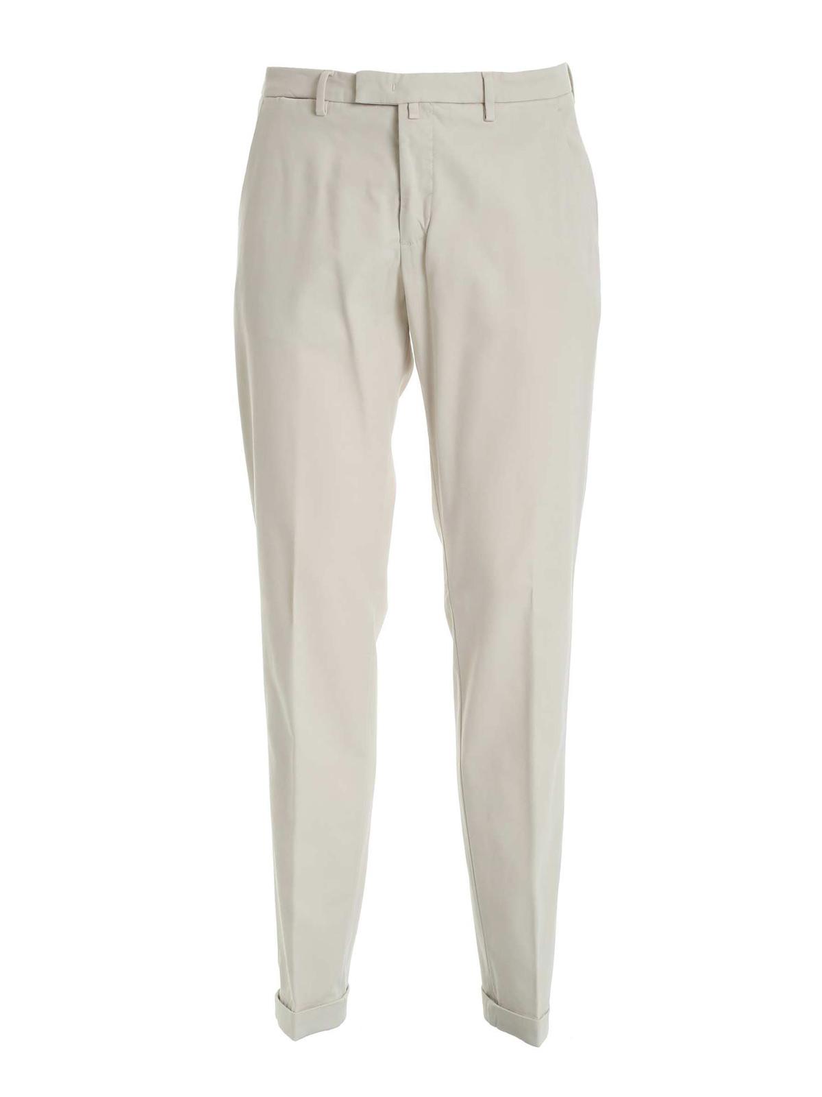 Picture of BRIGLIA 1949 | Men's Cotton and Modal Slim Trousers