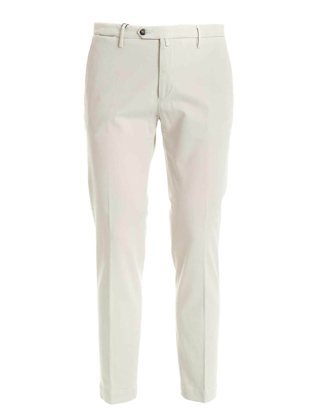 Immagine di BRIGLIA 1949 | Pantalone Uomo in Raso di Cotone