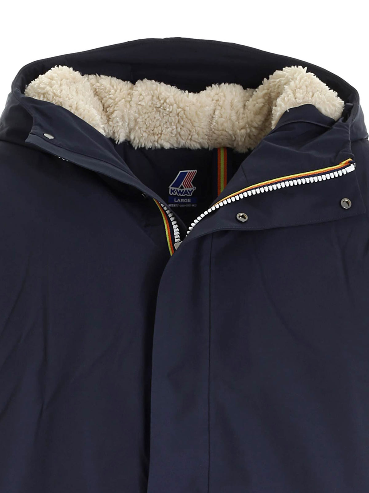 Immagine di K-WAY | Cappotto Uomo Jacob Nylon Sheepskin