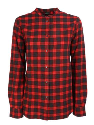 Picture of ASPESI | Women's Tartan Cotton Shirt