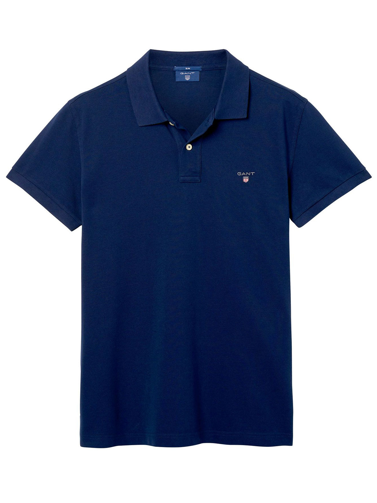 Gant men 39 s slim polo shirt 433 botta b for Mens slim polo shirts