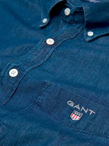 Immagine di GANT | Camicia Uomo Indaco