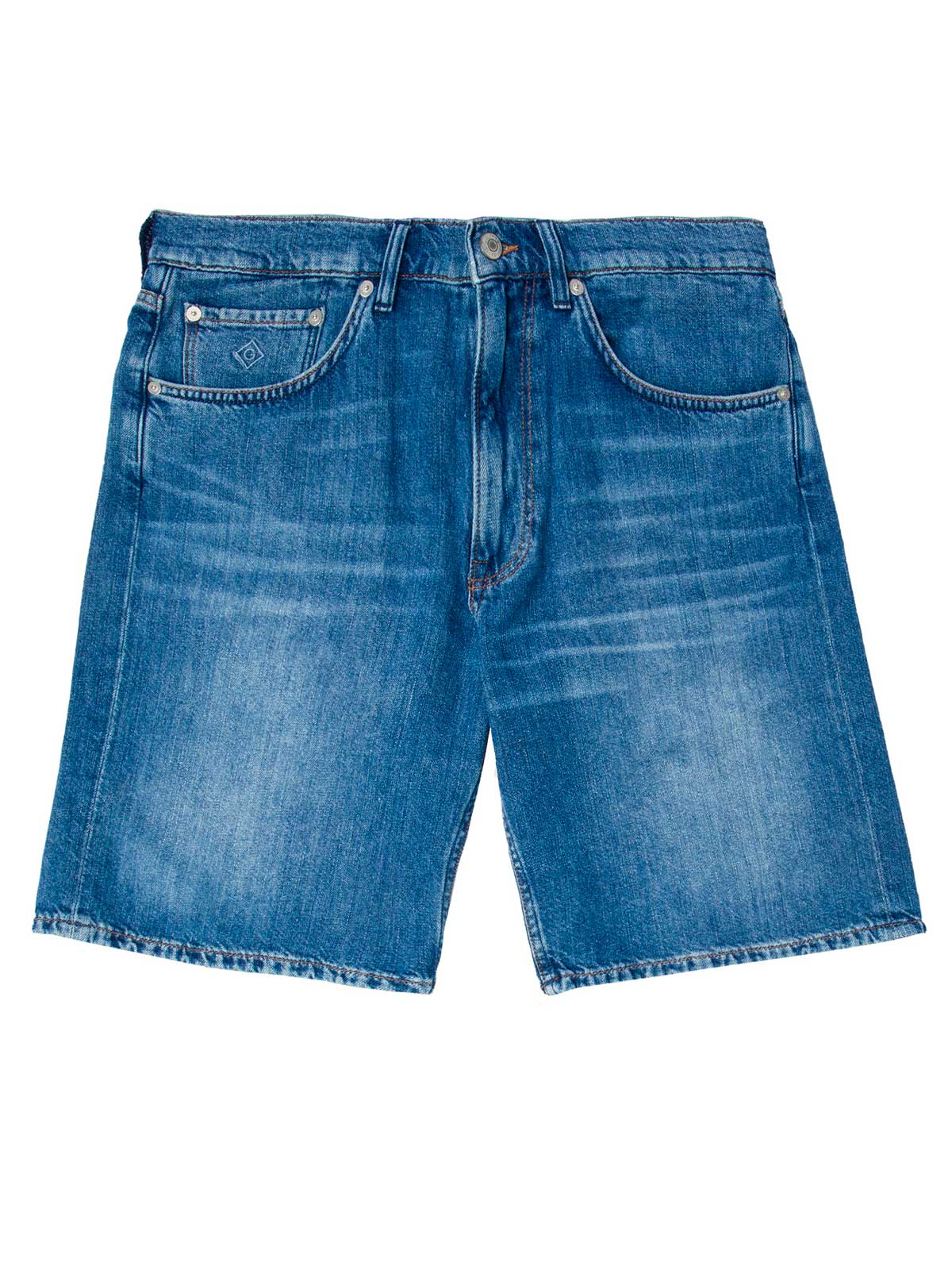 Picture of GANT | Bermuda O2. RELAXED LINEN DENIM SHORTS