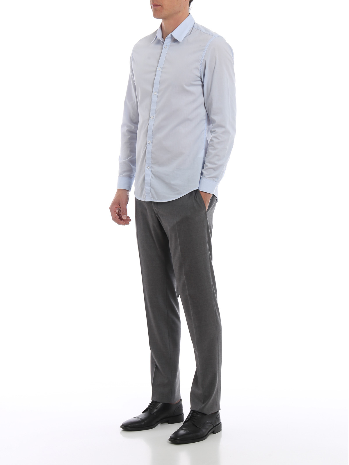 Picture of INCOTEX | Men's Cool Wool Trousers