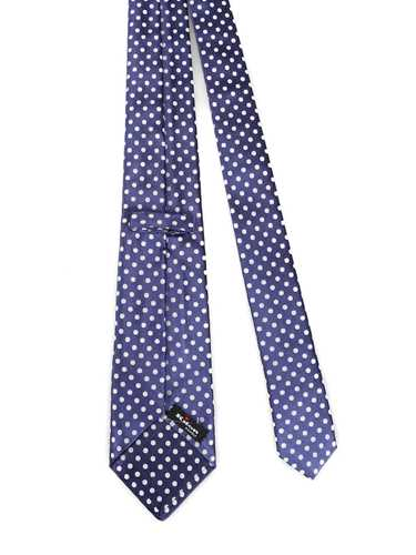 Picture of KITON | Dotted Seven Fold Tie