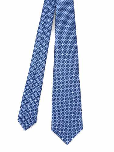 Picture of KITON | Micro-patterned Seven Fold Tie