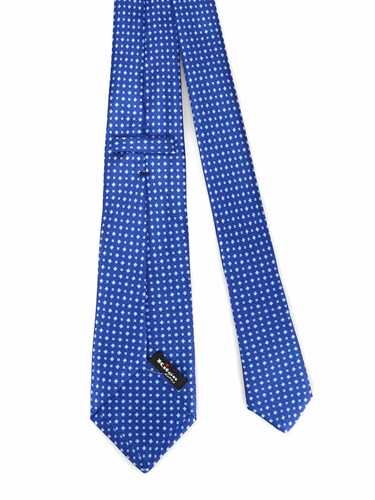 Picture of KITON | Patterned Seven Fold Tie