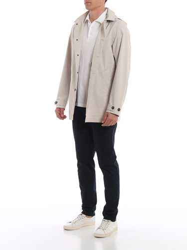 Picture of SAVE THE DUCK | Men's Trench Coat D4202M