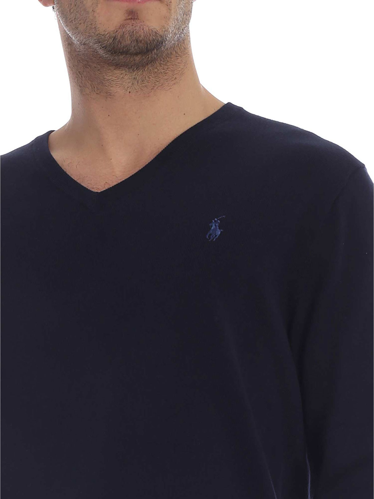 Picture of POLO RALPH LAUREN | Men's V-neck Sweater