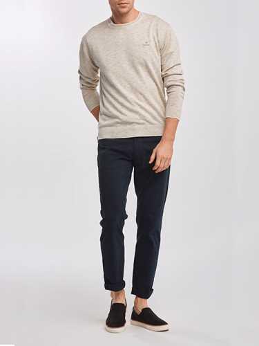 Picture of GANT | Men's Cotton Linen Crew