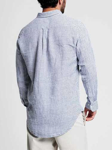 Picture of GANT | Camicie THE LINEN CHECK REG BD