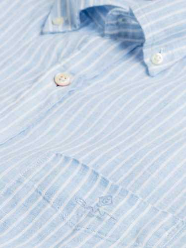 Picture of GANT | Camicie THE LINEN STRIPE REG BD