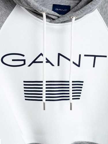 Immagine di GANT | Felpa Uomo Con Cappuccio a Righe