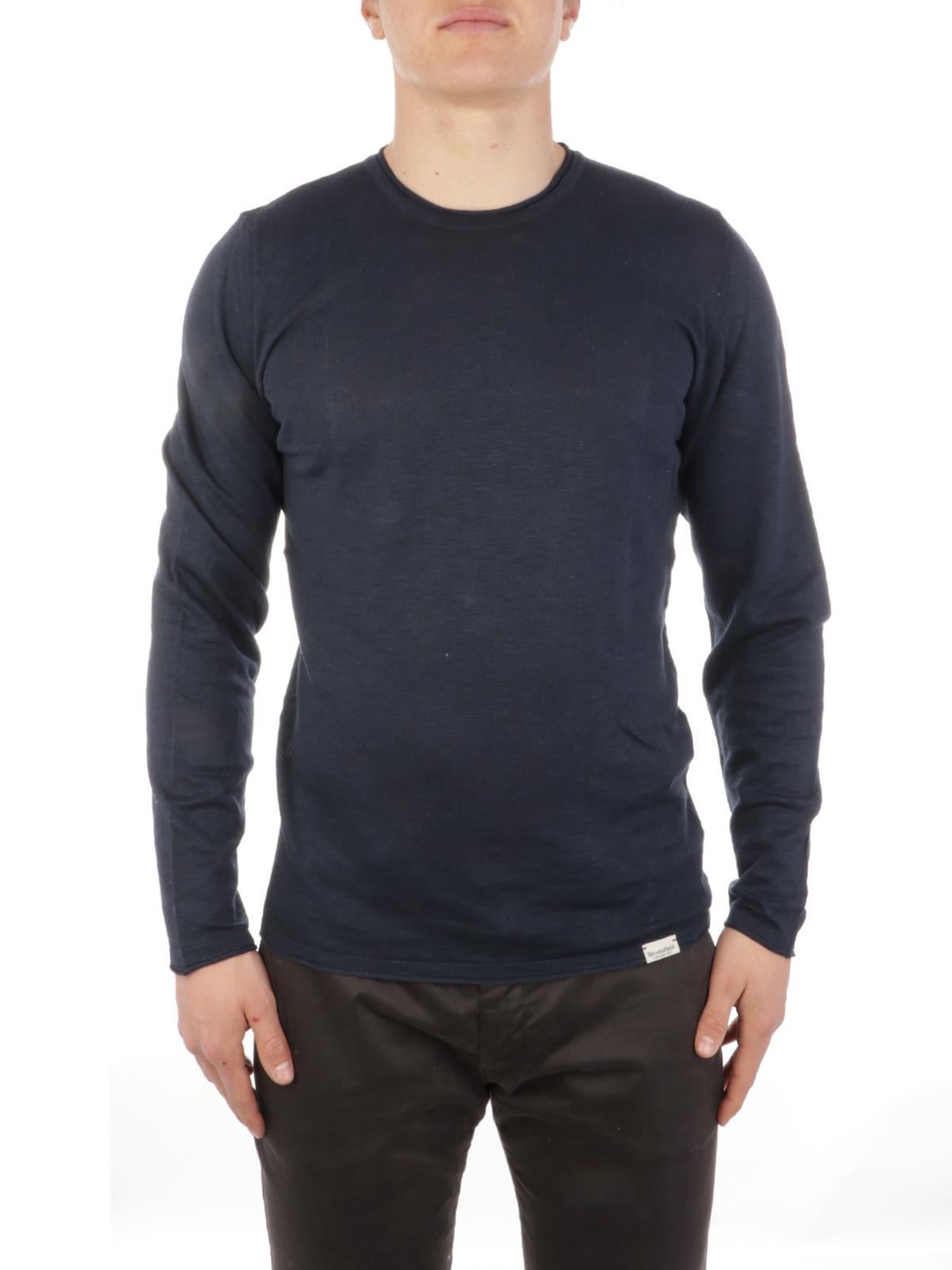 Picture of BROOKSFIELD | Men's Crewneck Linen Sweater