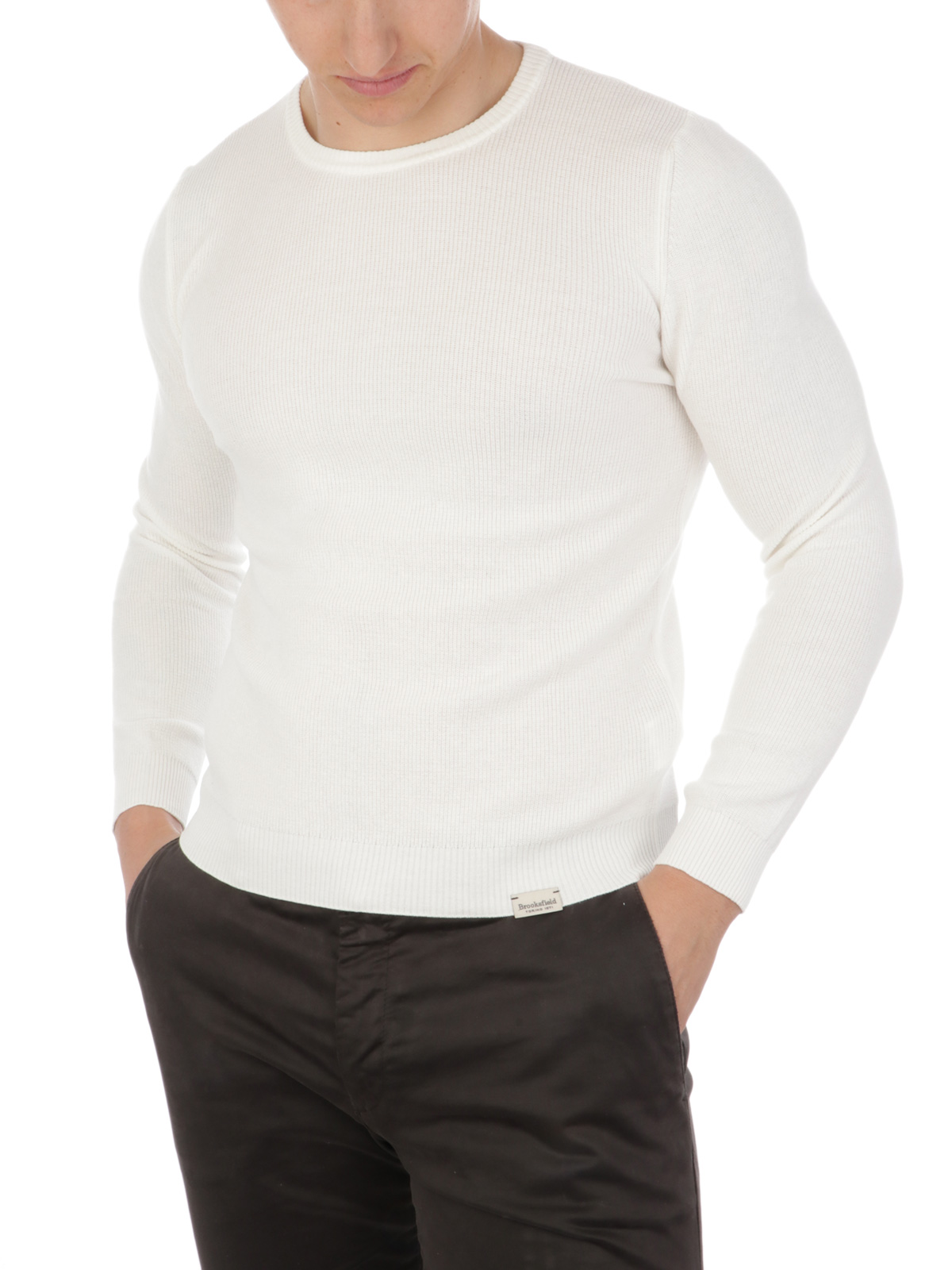 Picture of BROOKSFIELD | Men's Cotton Yarn Sweater