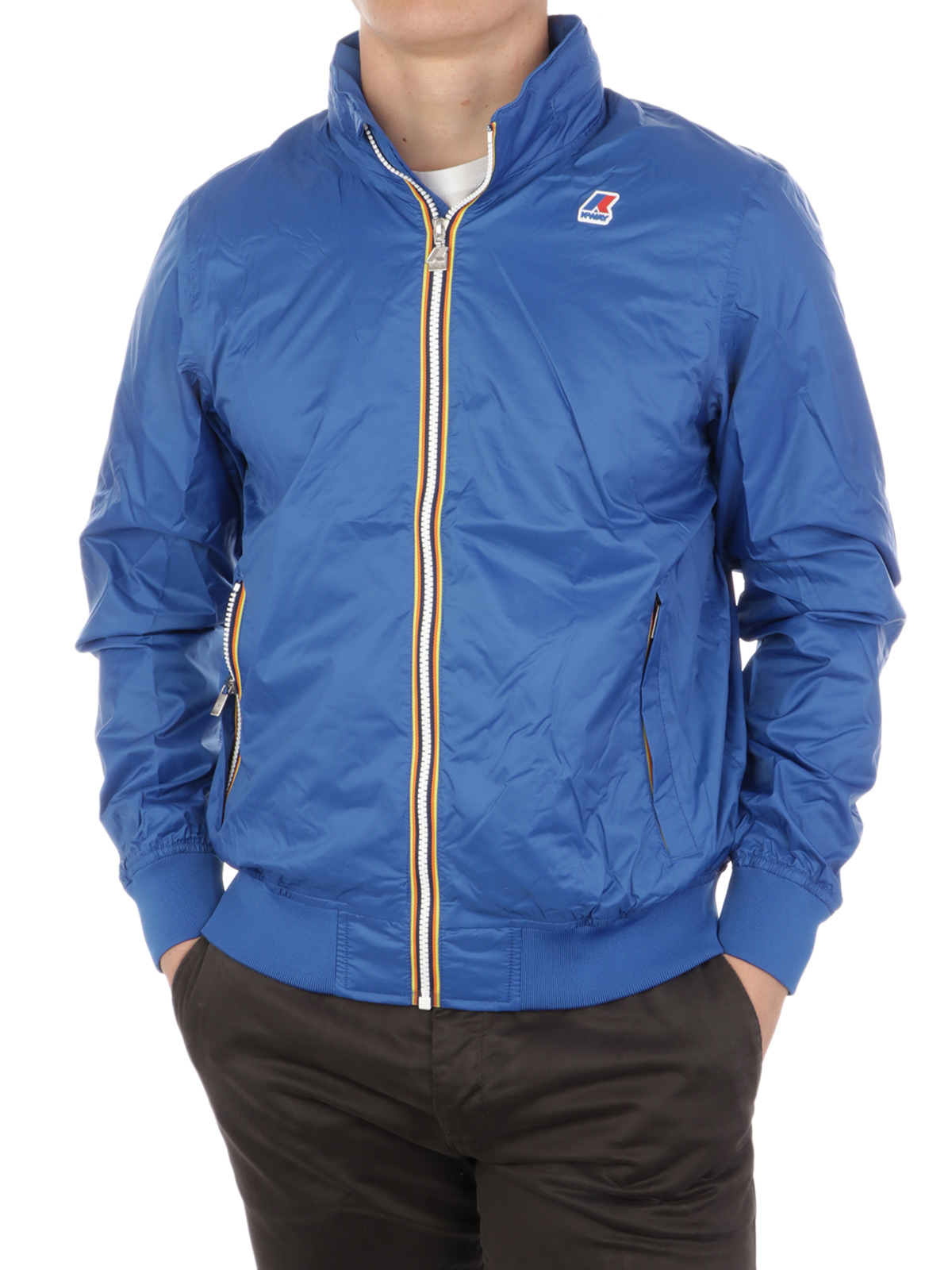 Picture of K-WAY | Men's Amaury Nylon Jersey Jacket