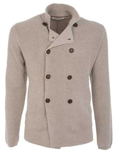 Picture of BRUNELLO CUCINELLI | Double-Breasted Cardigan
