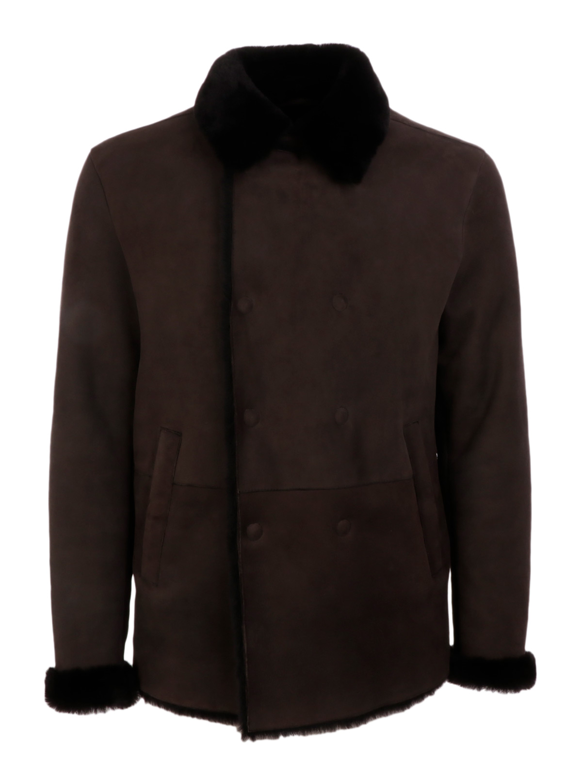 Picture of EMPORIO ARMANI | Men's Shearling Jacket