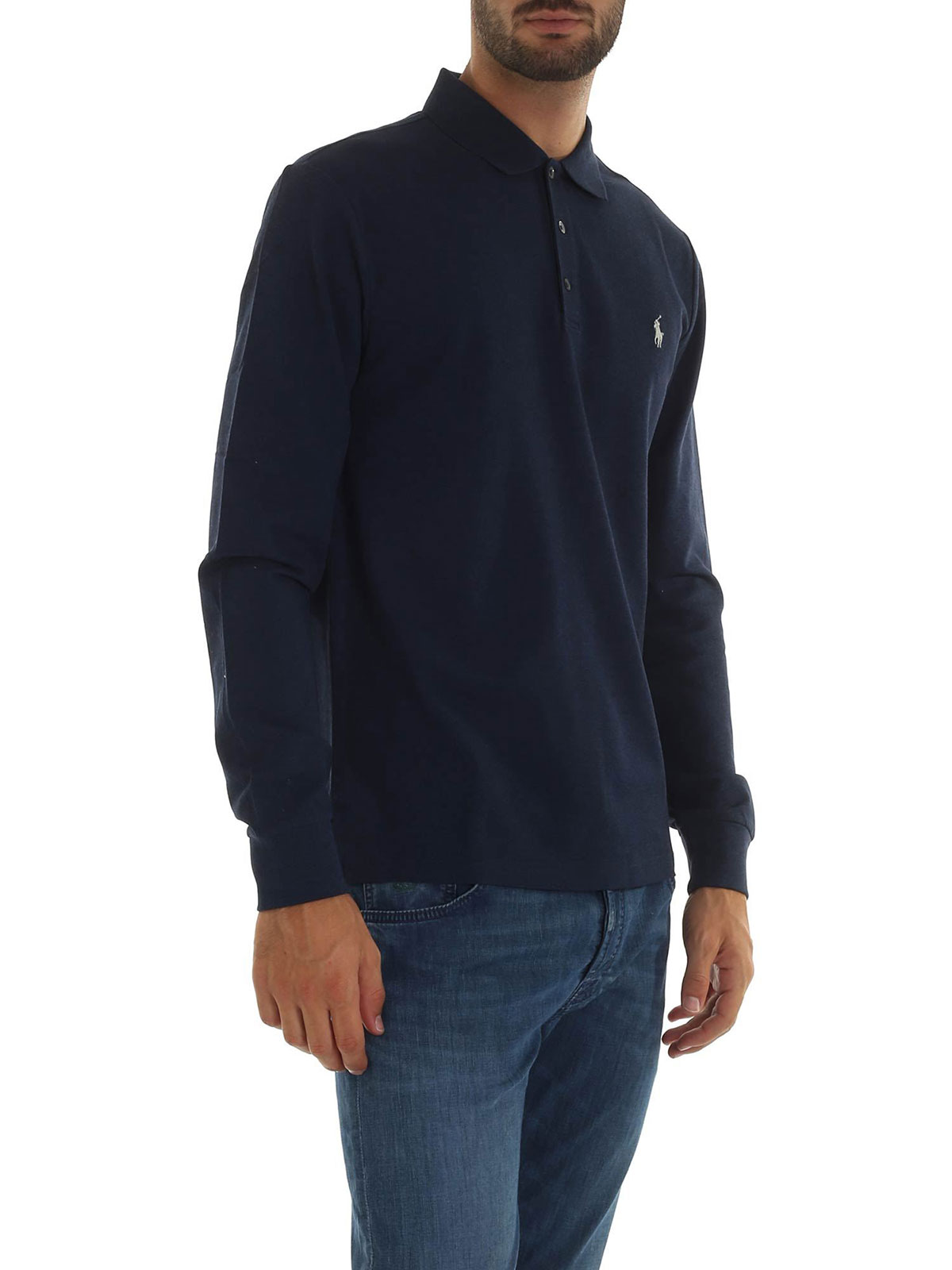 Picture of POLO RALPH LAUREN | Men's Long Sleeves Polo Shirt
