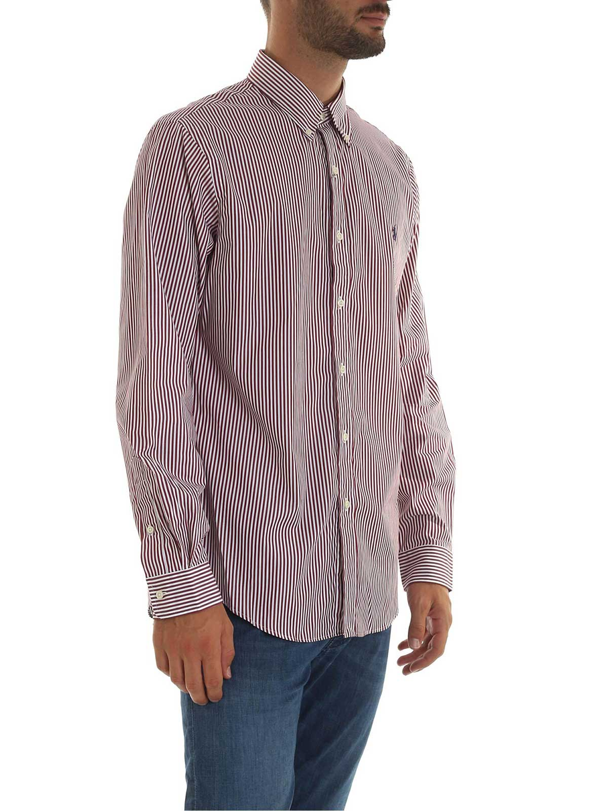 Picture of POLO RALPH LAUREN | Men's Striped Cotton Shirt