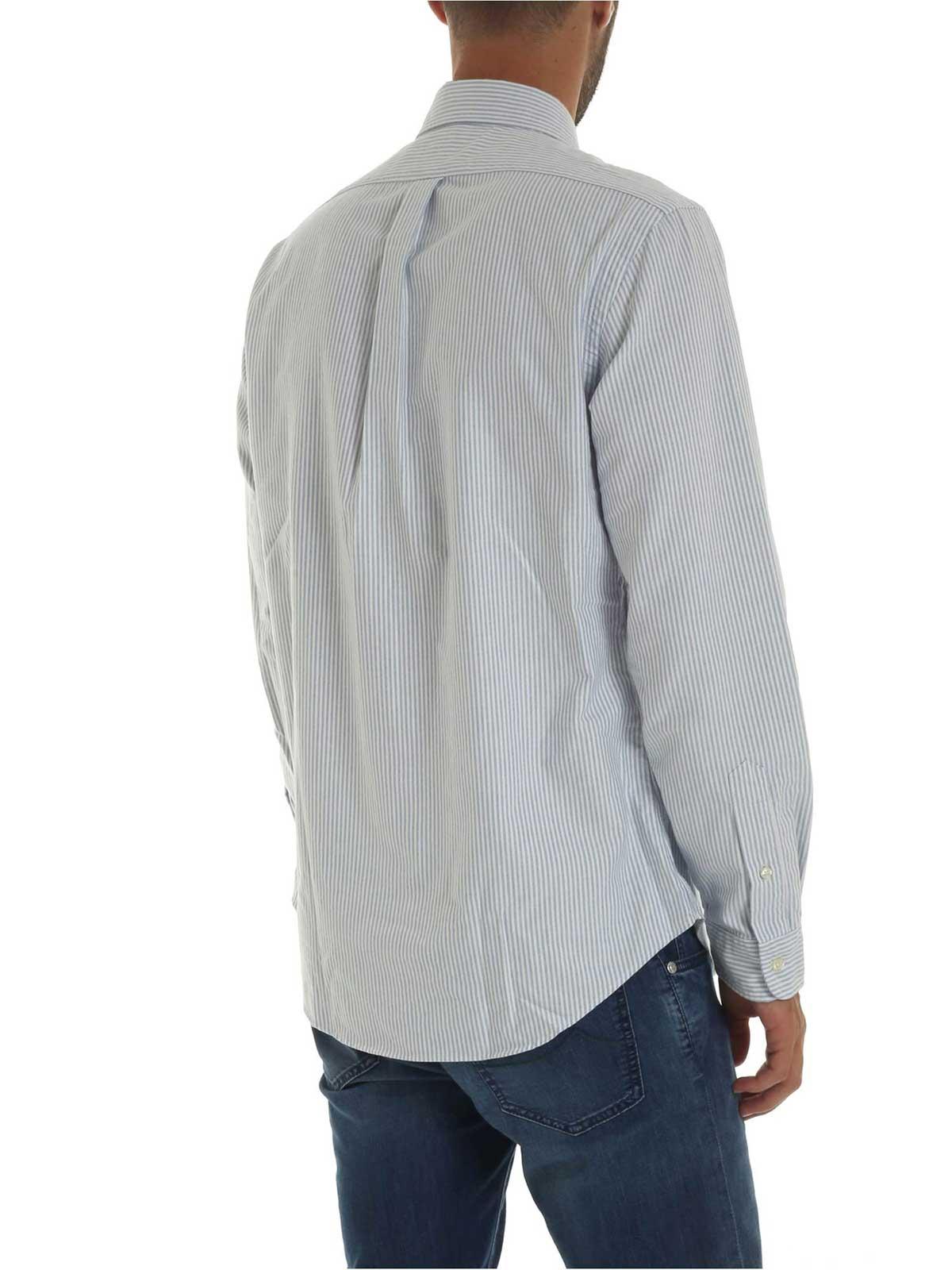 Picture of POLO RALPH LAUREN   Men's Striped Cotton Shirt