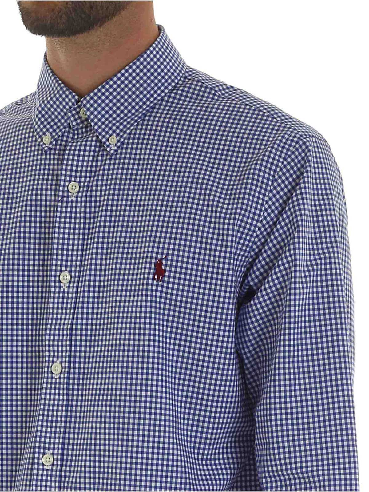 Picture of POLO RALPH LAUREN | Men's Checked Cotton Shirt