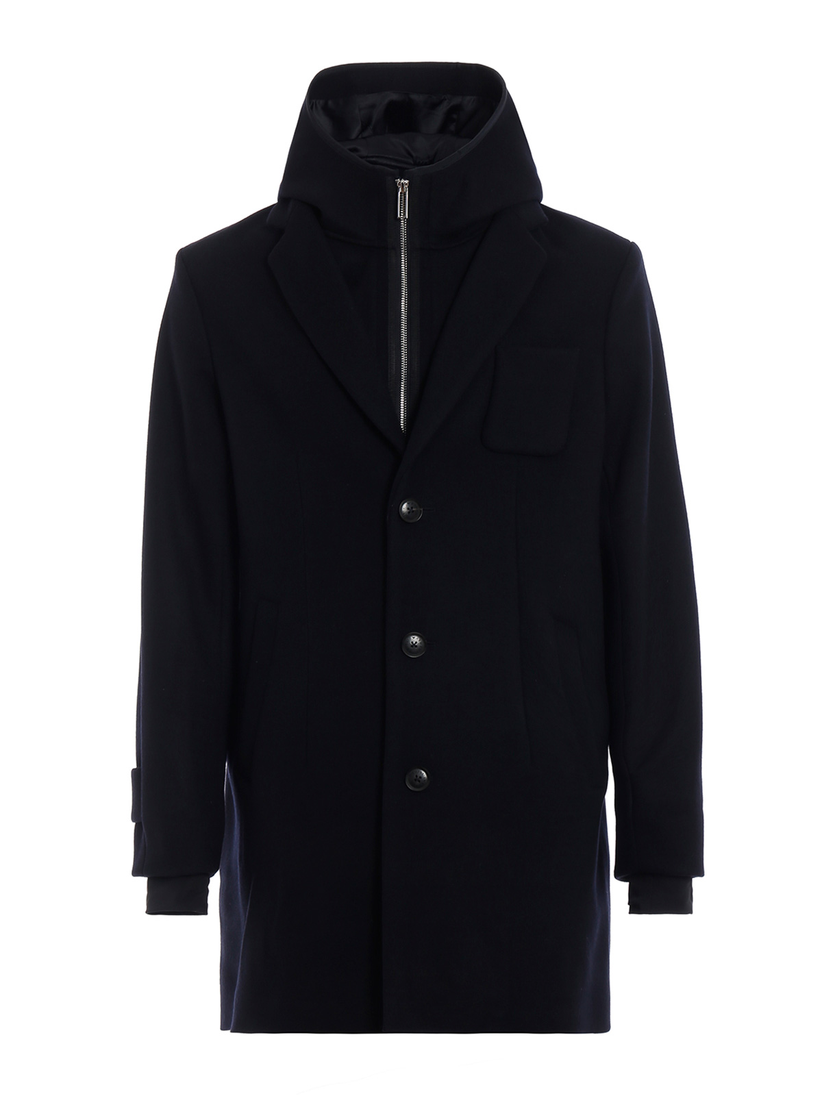 Picture of EMPORIO ARMANI | Men's Wool Blend Coat