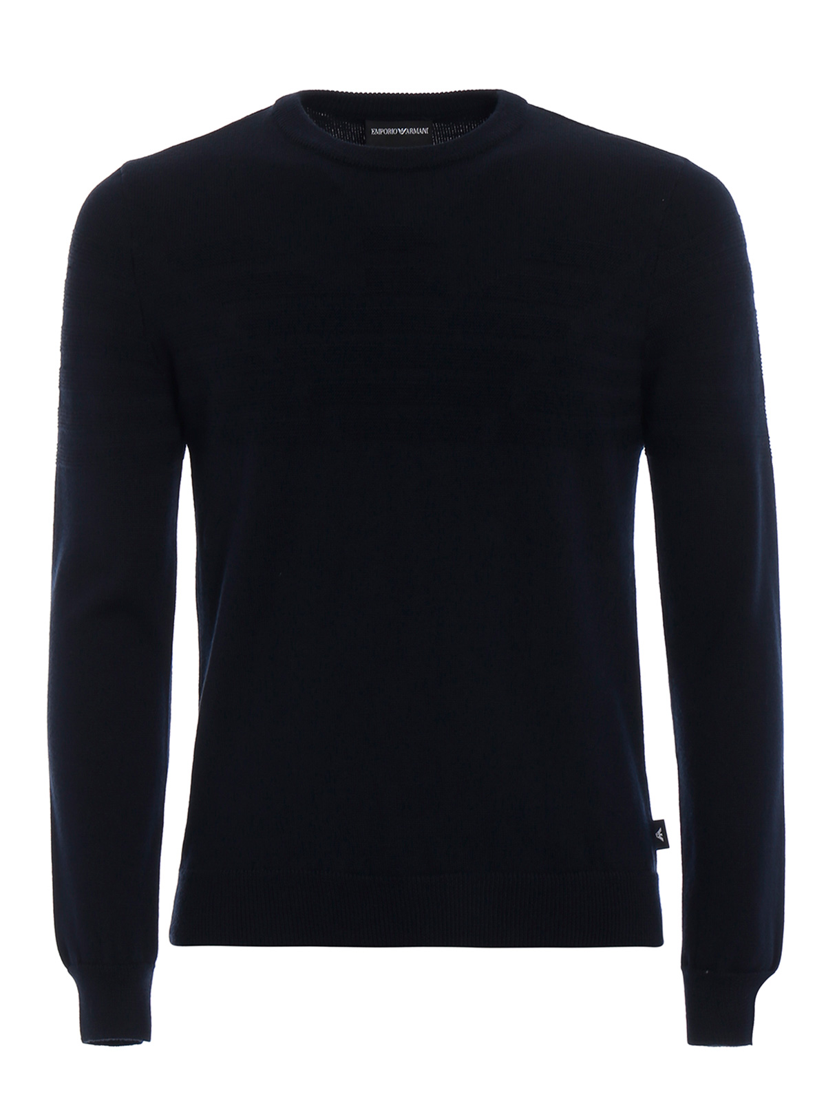 Picture of EMPORIO ARMANI | Men's Knitted Stripes Pullover