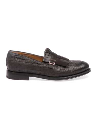 Picture of BARRETT | Men's Elk Loafer with Fringes