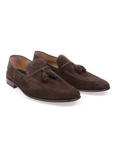 Picture of BARRETT | Men's Suede Loafer with Tassels