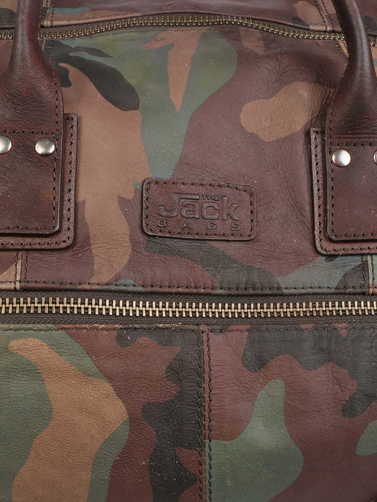 Picture of THE JACK LEATHERS | Leather Explorer Bag