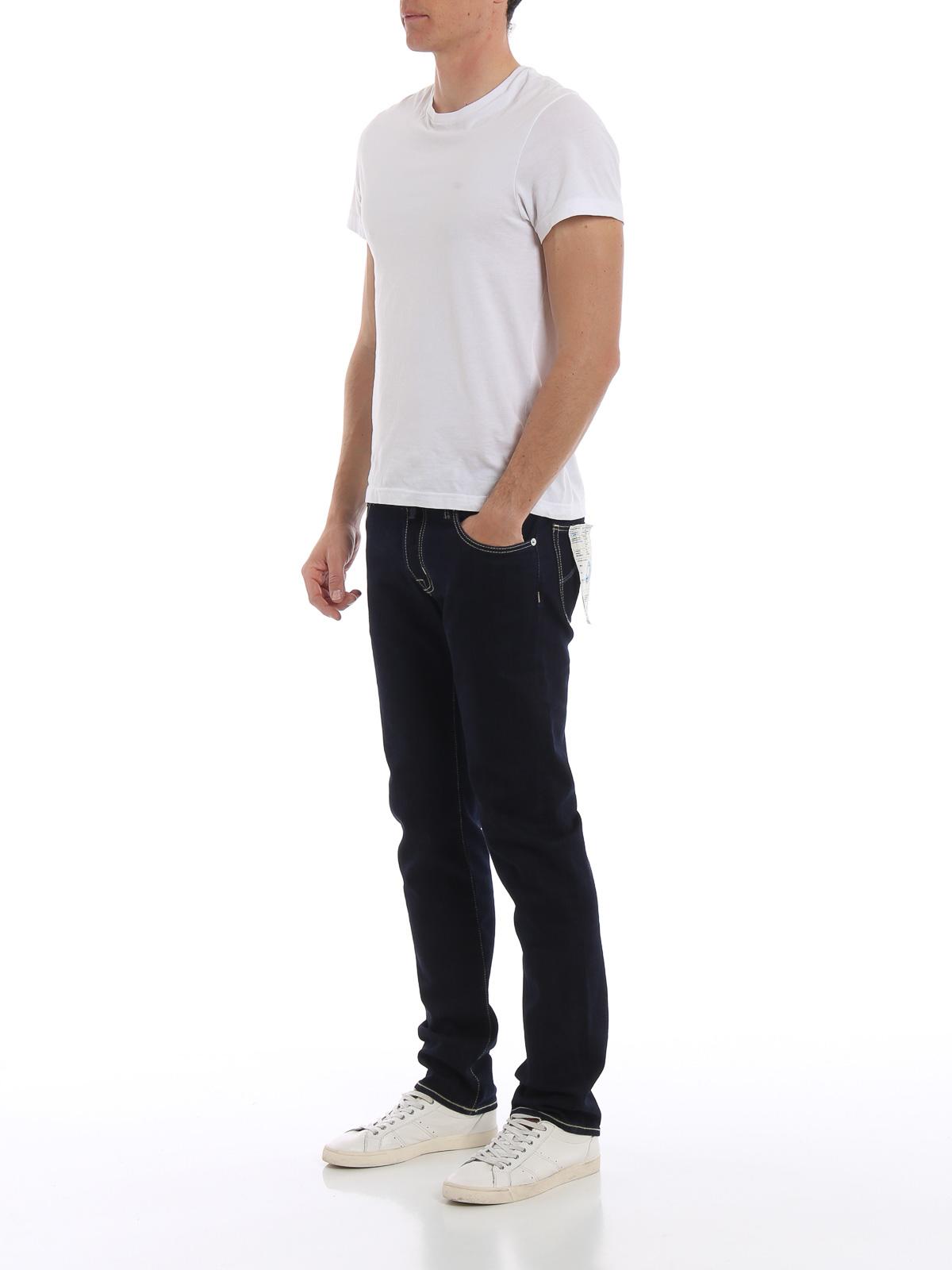 Picture of JACOB COHEN | Men's Dark Denim Jeans
