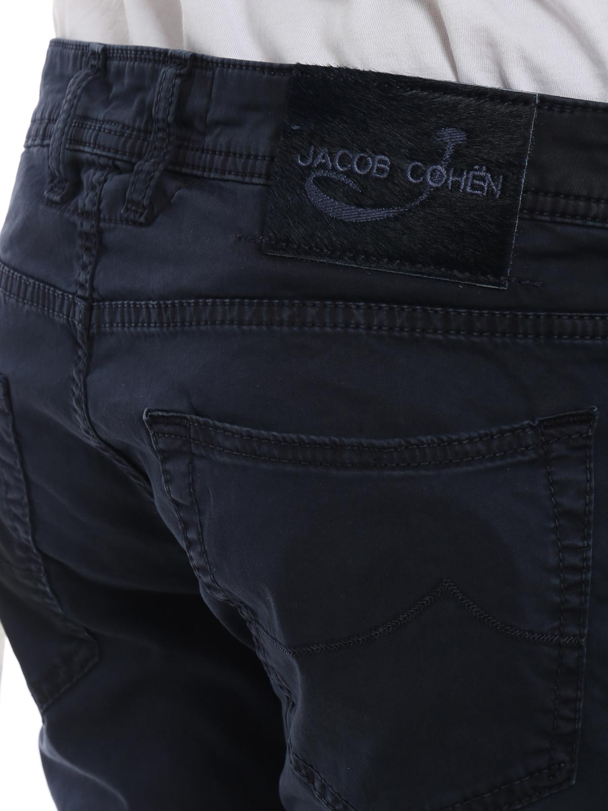 Picture of JACOB COHEN | Men's Stretch Cotton Trousers