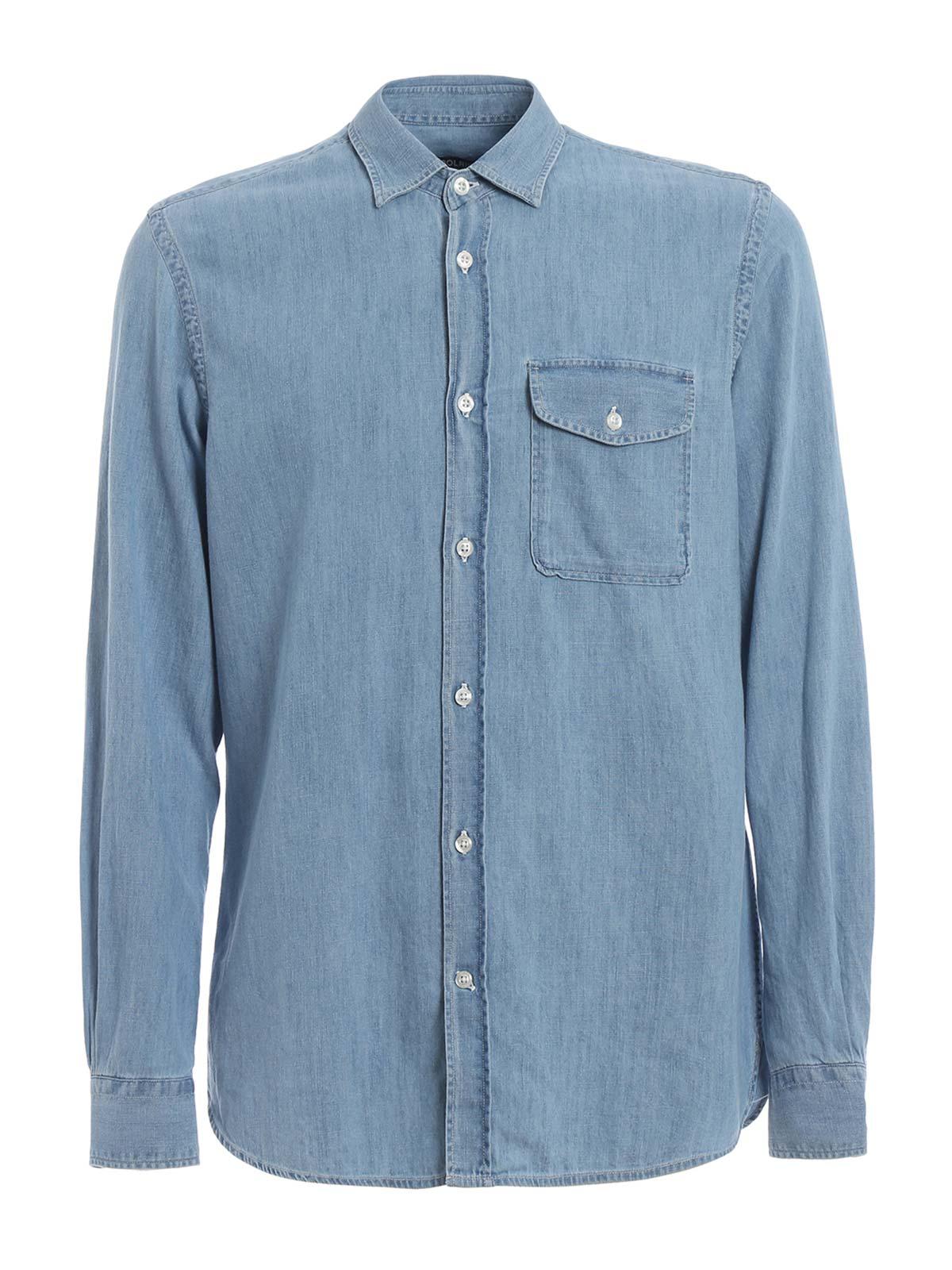 Picture of WOOLRICH | Men's Denim Shirt