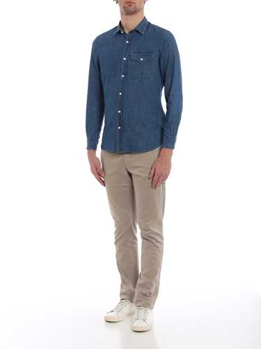 Picture of WOOLRICH | Men's Denim Shirt