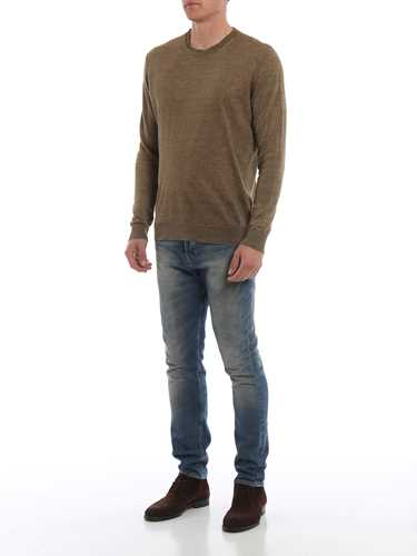 Picture of WOOLRICH | Men's Linen Crewneck Sweater