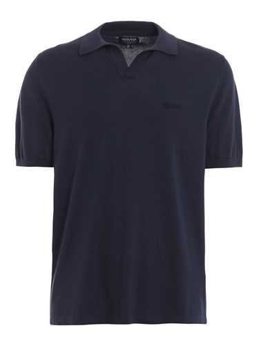 Picture of WOOLRICH | Men's Cotton Polo Shirt