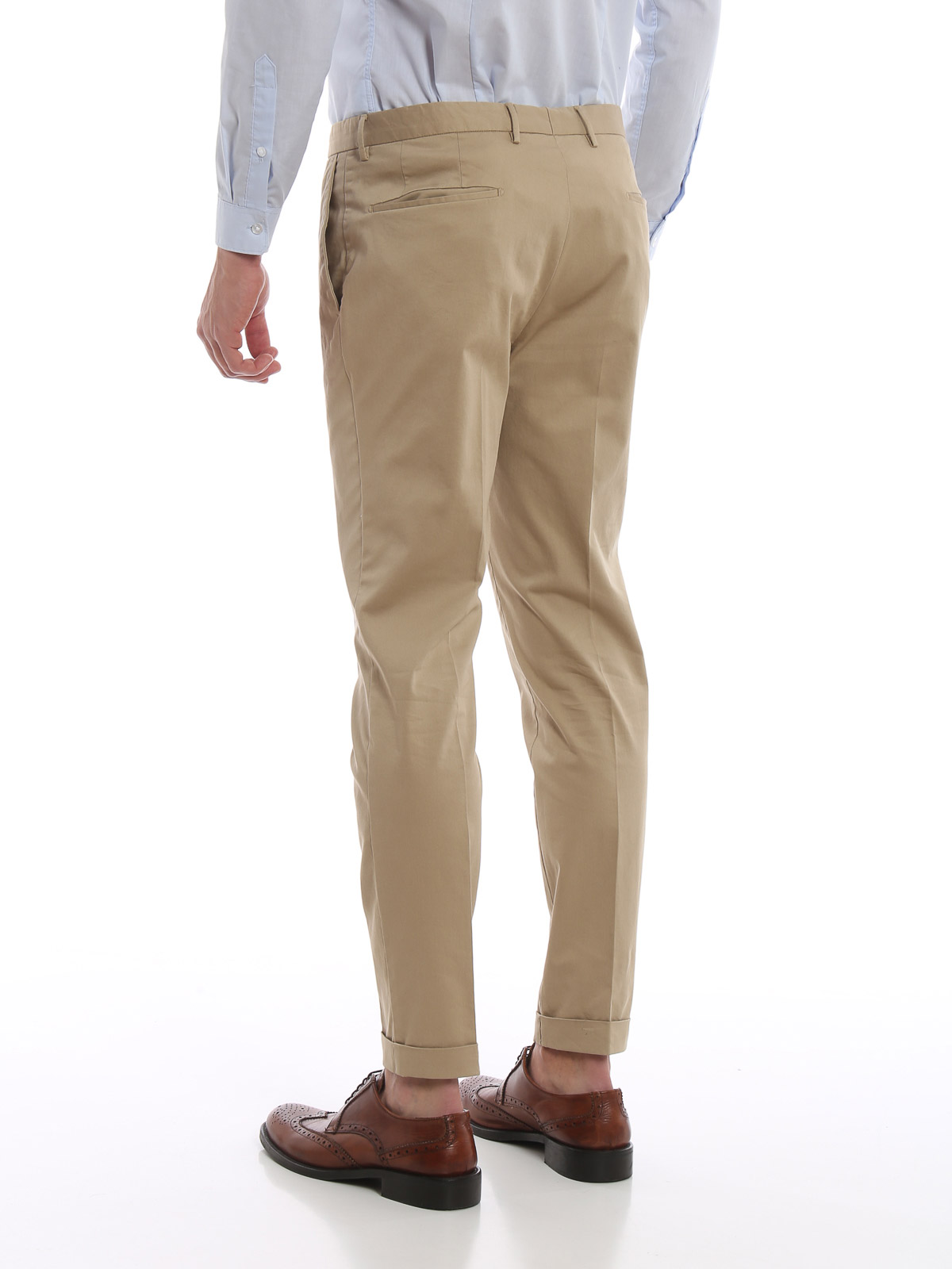 Picture of INCOTEX | Men's Cotton Twill Trousers