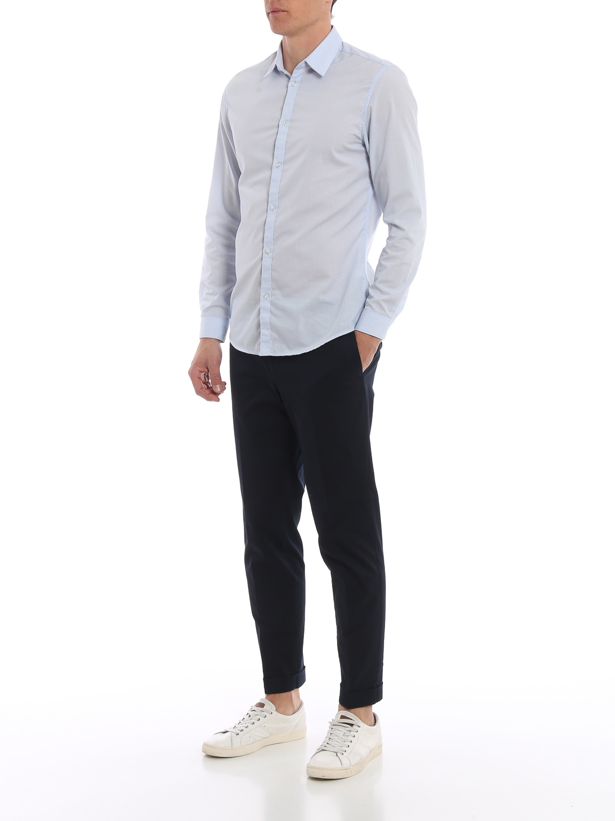 Picture of INCOTEX   Men's Cotton Twill Trousers