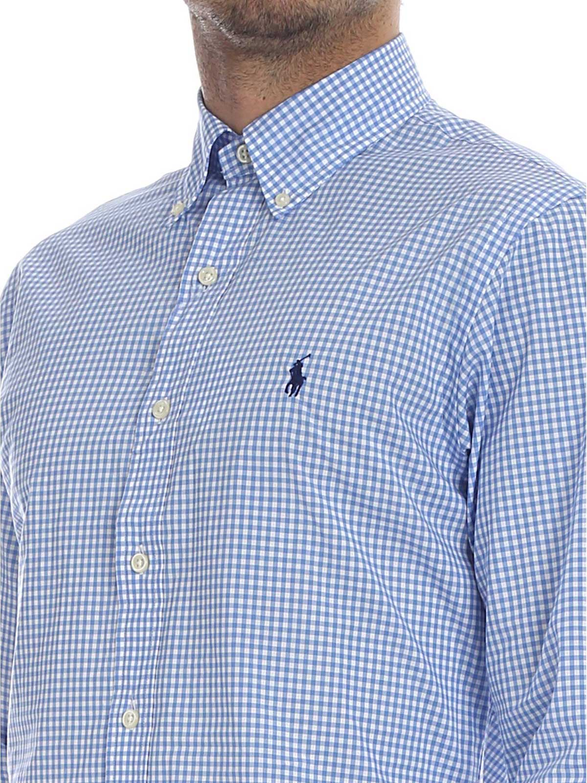 Picture of POLO RALPH LAUREN | Men's Squared Slim Fit Shirt