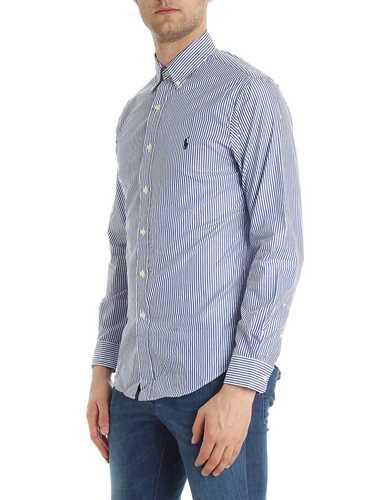 Immagine di POLO RALPH LAUREN | Camicia Uomo Slim Fit a Righe