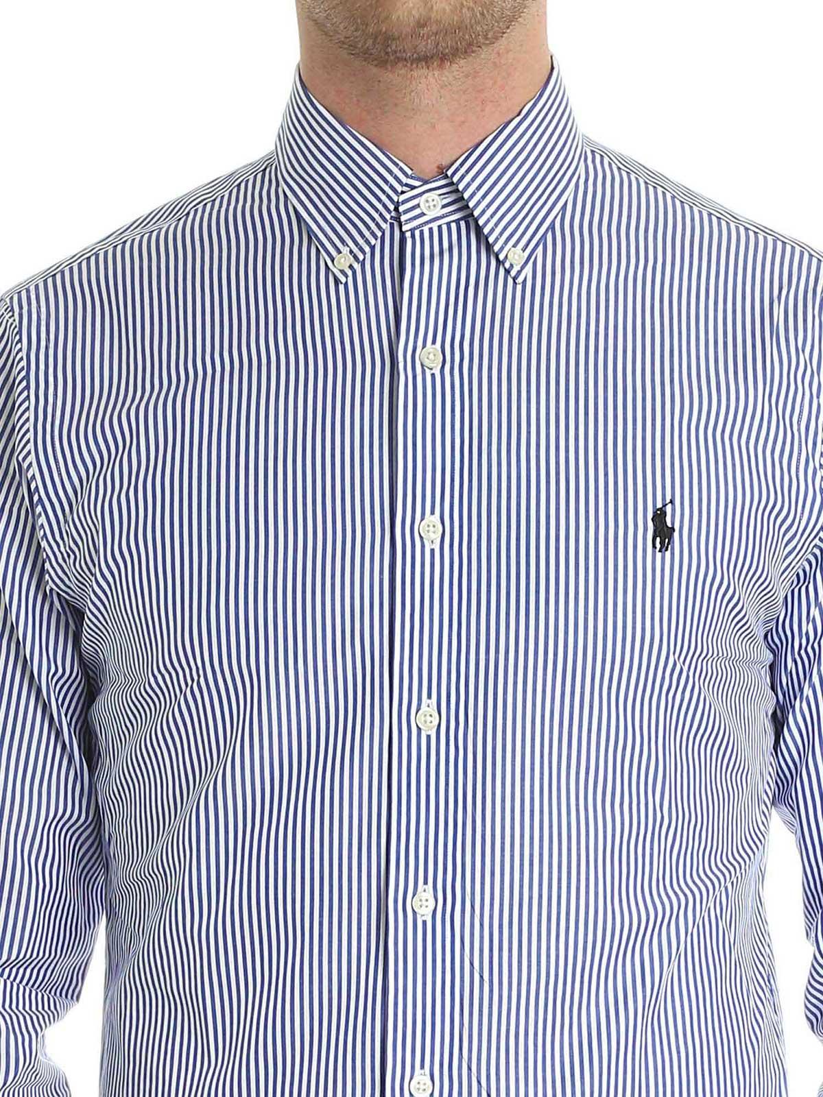 Picture of POLO RALPH LAUREN | Men's Striped Slim Fit Shirt
