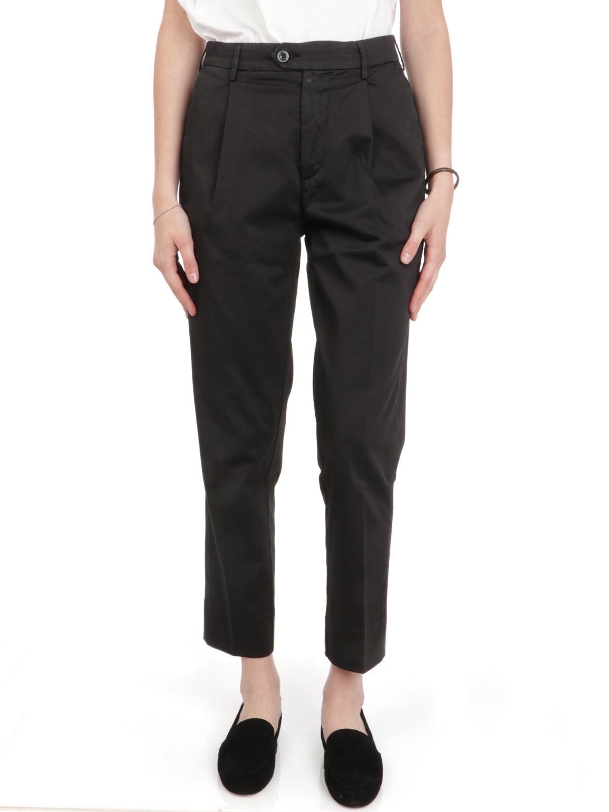 Picture of OAKS | Women's Elle Cotton Trousers