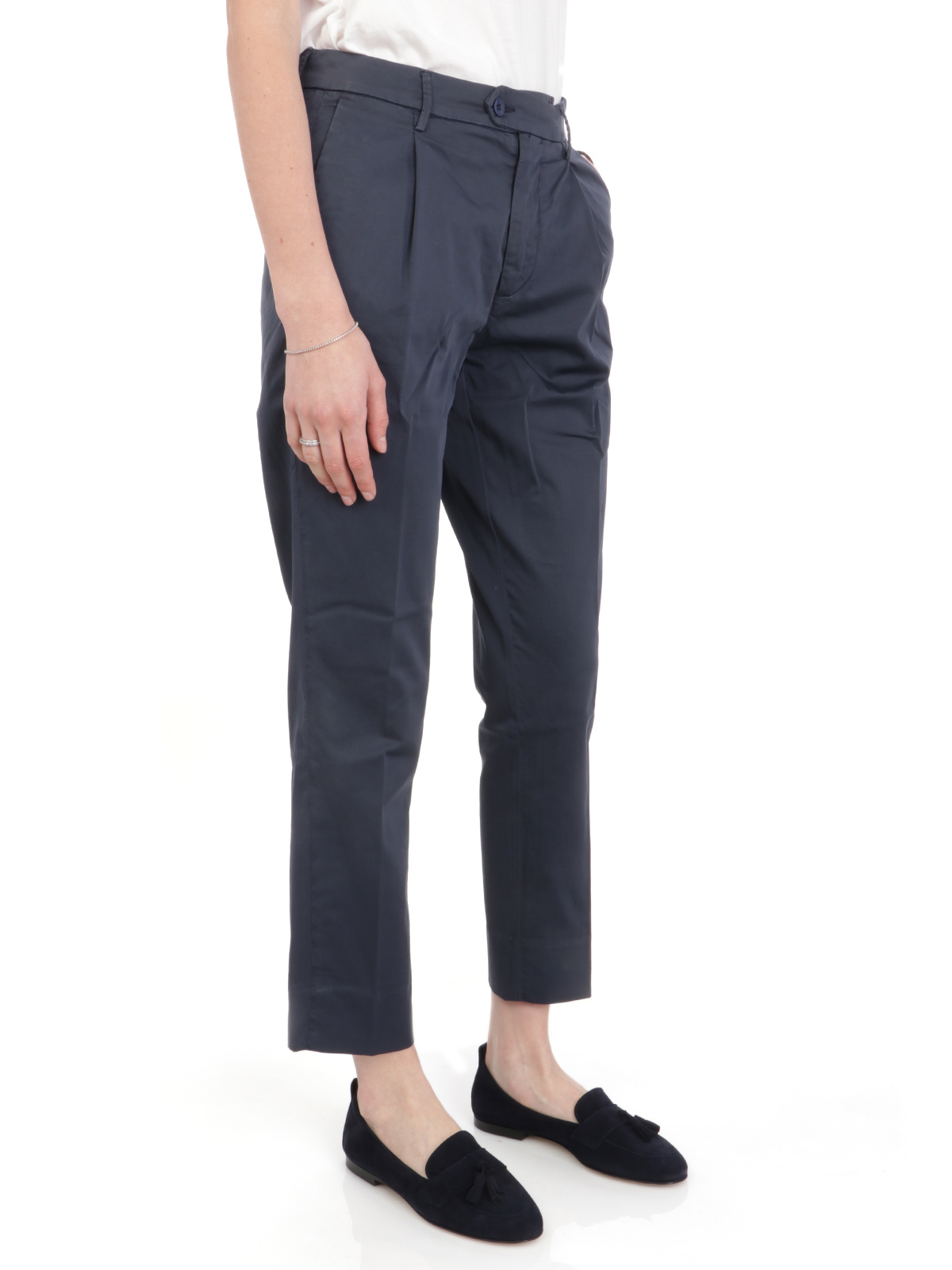 Picture of OAKS   Women's Elle Cotton Trousers