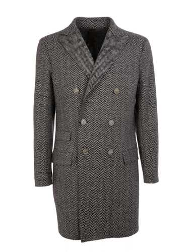 Picture of ELEVENTY | Men's Wool Double Breasted Coat
