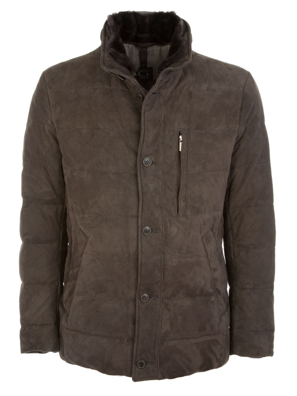 Picture of Gimo's | 51120 Leather Coat